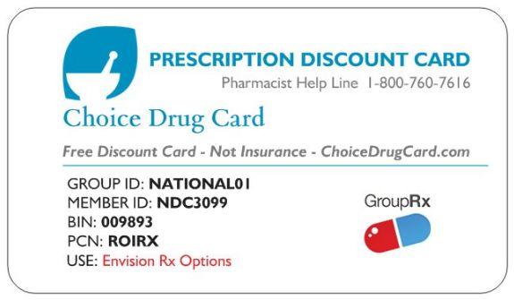 free drug card