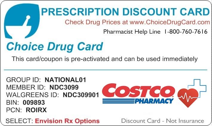 Costco Pharmacy Discount Card