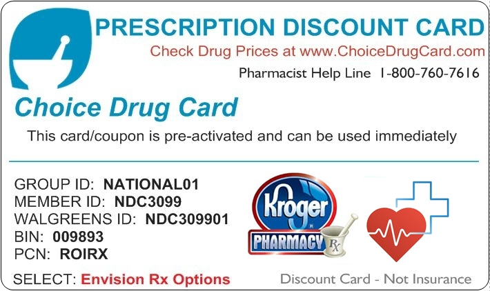Kroger Pharmacy Discount Card