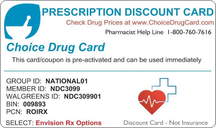 spanich pharmacy discount card